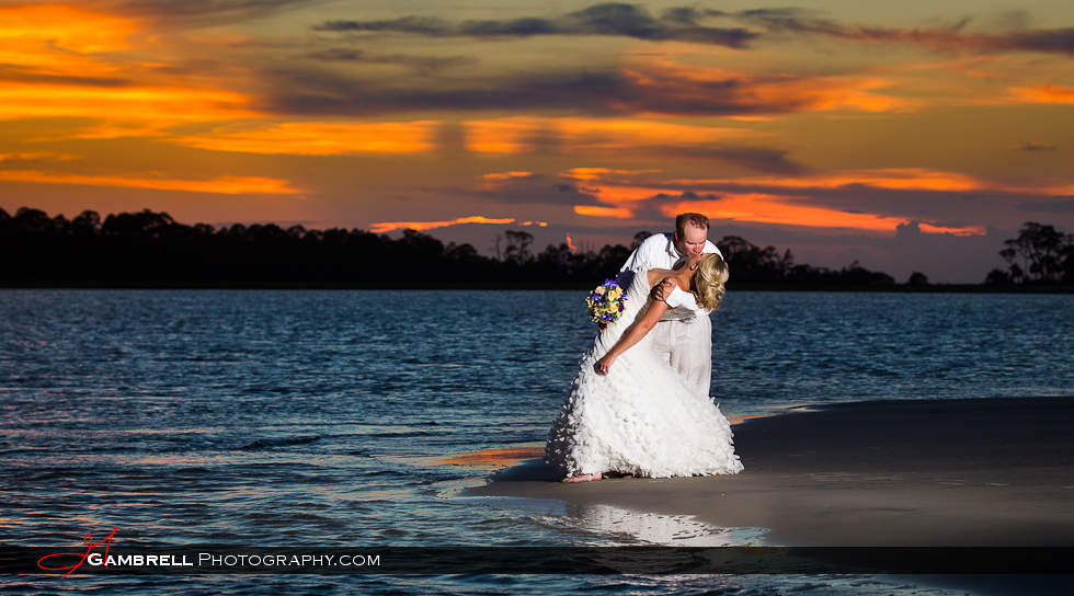 Whitney And Bradon Wedding At Tybee Island Beach Gambrell Photography