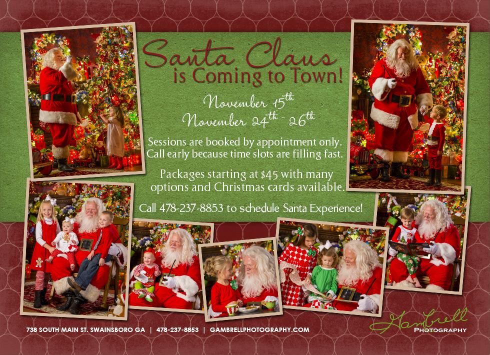 Santa 2014 Blog