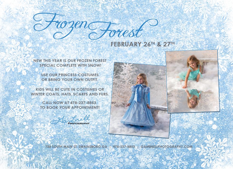 Frozen blog